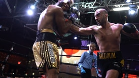 Lebanese boxer Nadim Salloum storms to emphatic victory in New York