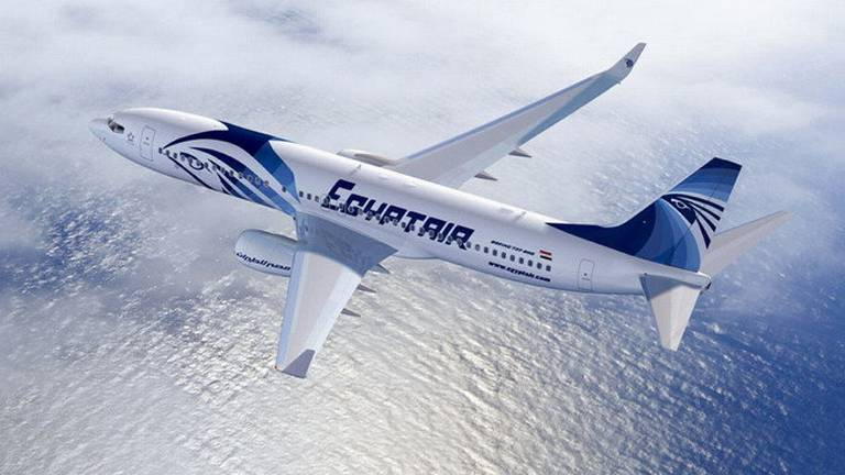 An image that illustrates this article EgyptAir Moscow-bound flight returns to Cairo after threatening message found