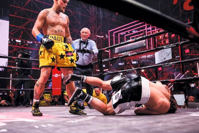 Jake Paul vs Ben Askren. Courtesy Triller