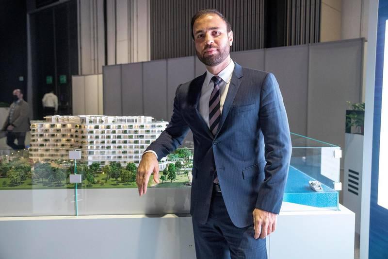 DUBAI UNITED ARAB EMIRATES. 16 NOVEMBER 2020. 2020 Cityscape Exhibition at the Dubai Trade Center. Farhad Azizi, CEO of Azizi Developments. (Photo: Antonie Robertson/The National) Journalist: Sarmad Khan. Section: National.