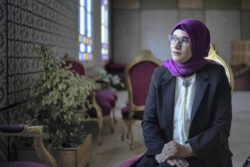 """In the tiled halls of Tunisia's parliament hundreds of kilometers away, Chedia Hafsouni, anMP from Jendouba affirms: """"It's really up to the efforts of the state. But the state doesn't have anorganized strategy to address rural women's problems. Their strategy is failing."""""""