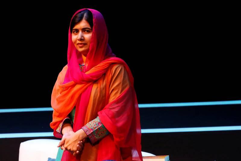 Nobel laureate Malala Yousafzai attends an event of the Fundacion Telmex Mexico Siglo XXI (Telmex Foundation Mexico XXI Century) in Mexico City, Mexico, September 1, 2017. REUTERS/Ginnette Riquelme