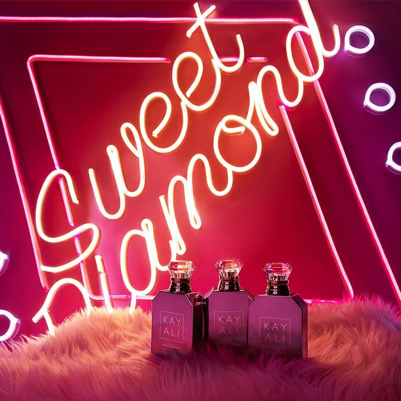 Sweet Diamond Pink Pepper  25 eau de parfum, Dh506,  Kayali