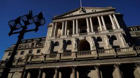 Pound gains on BoE's upbeat analysis and strong vaccine rollout