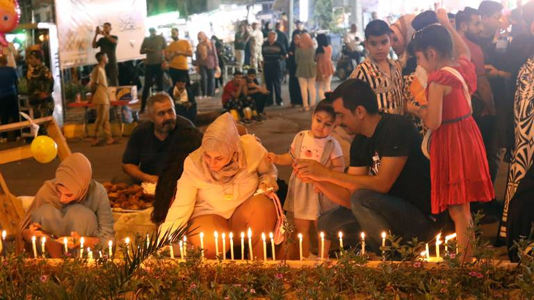 An image that illustrates this article Watch Prophet Mohammed's birthday celebrations in Baghdad