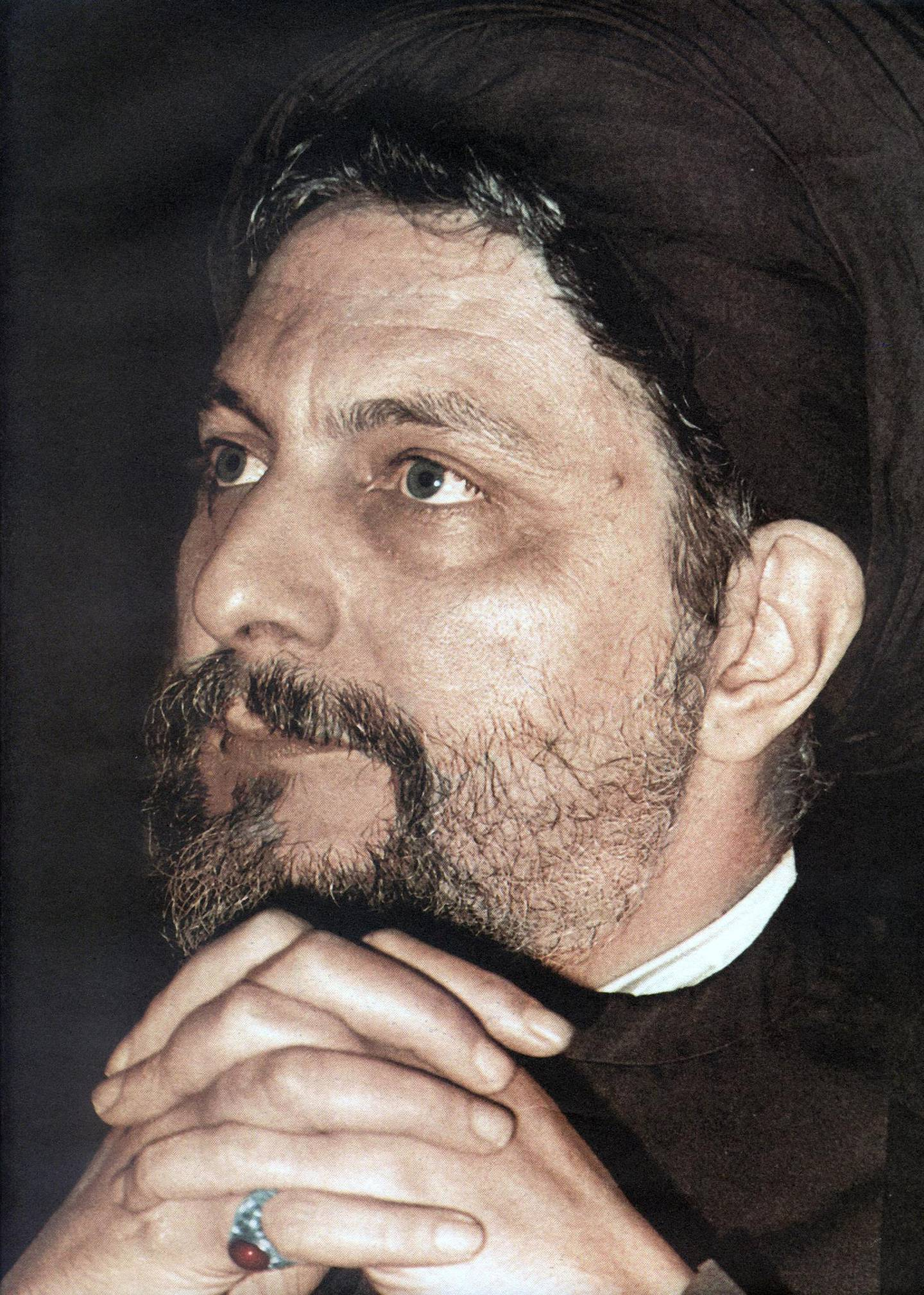 Reproduction of a photo taken in the 1970s shows Lebanese Shiite Muslim religious leader, Imam Mussa al-Sadr, the founder of the Amal movement, which played a major role in Lebanon's civil war between 1975 and 1990. Sadr, who was the head of the Higher Shiite Council in Lebanon, vanished while on a trip to Libya in 1978. Libya severed diplomatic relations with Lebanon 03 September 2003 following accusations that Libyan leader Moamer Kadhafi helped cover up the disappearance of the prominent cleric, official sources in Beirut said. Officials at the Libyan embassy were not available for comment. AFP PHOTO/HO / AFP PHOTO