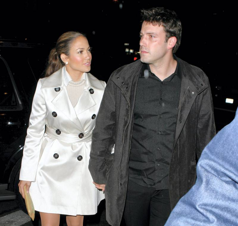 Jennifer Lopez and Ben Affleck (Photo by James Devaney/WireImage)