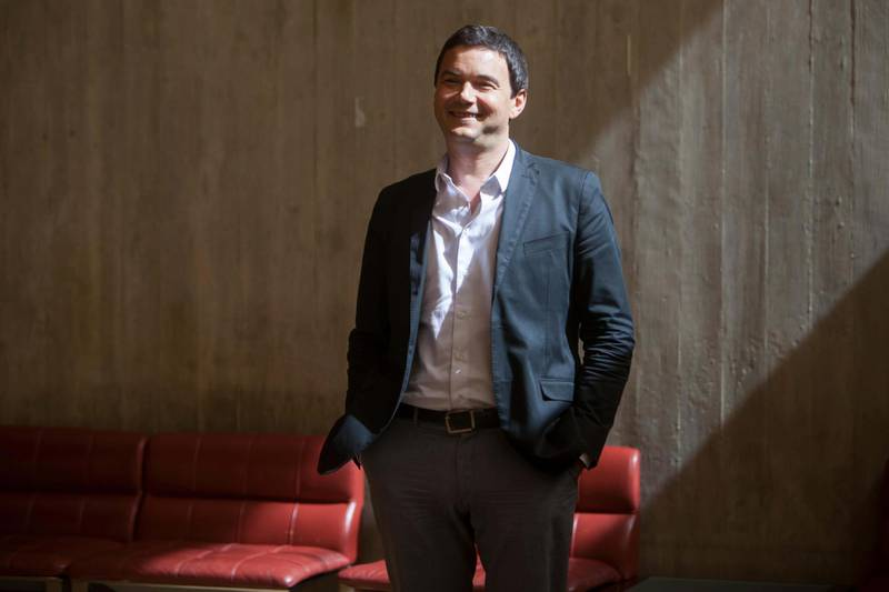 FA6A57 Thomas Piketty, French economist who works on wealth and income inequality, on a visit to Portugal. Alamy