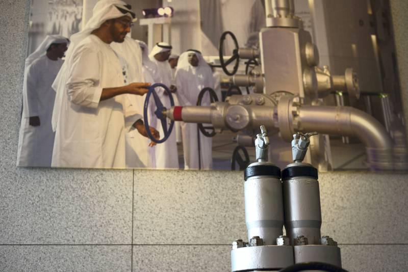Abu Dhabi, United Arab Emirates - Machinery used for drilling oil at the ADNOC headquarters, on February 25, 2018. (Khushnum Bhandari/ The National)