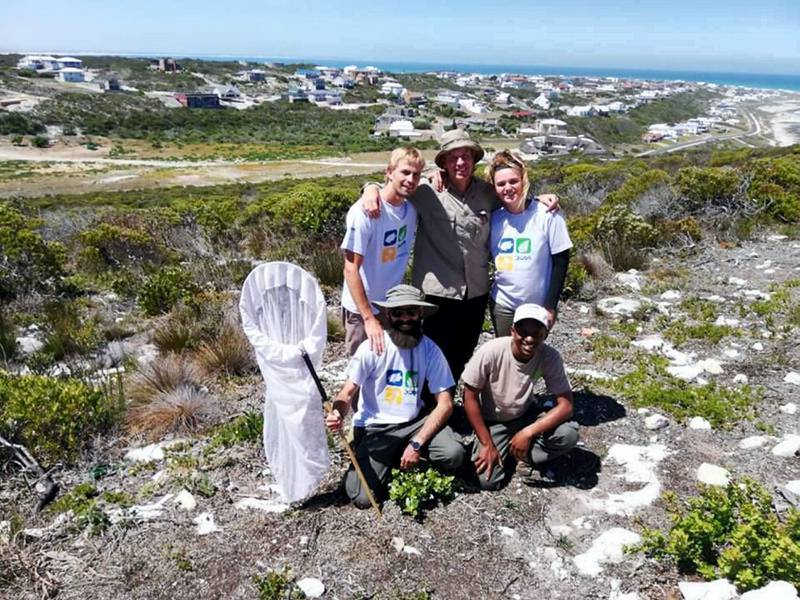 The Grootbos conservation team. coutesy: MBZ Fund Relief Grants