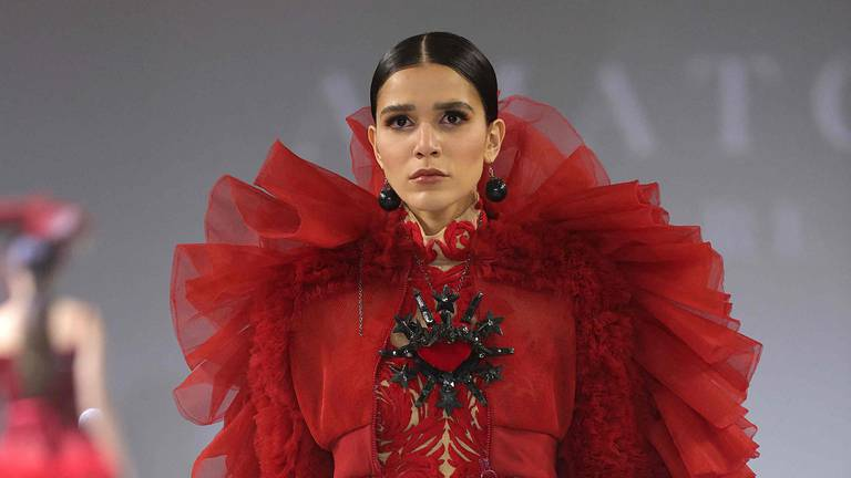 An image that illustrates this article Highlights from Arab Fashion Week spring/summer 2022