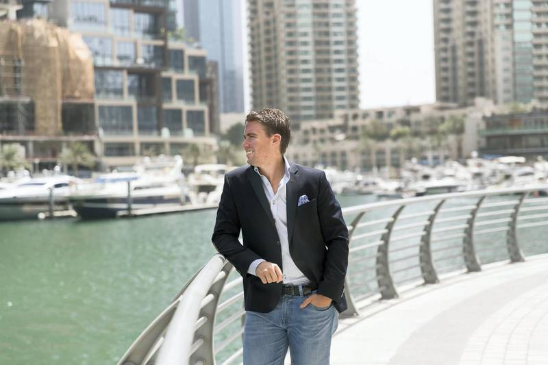 """DUBAI, UNITED ARAB EMIRATES - MAY 5, 2018. Swedish national Edward Hartung, 30, has been taking advantage of sterling weakness over the last year to build up funds in the UK, where he plans to invest in property. The IT expert, who has worked for Oracle in Dubai for the last three years, and previously split his time between London and Dublin, thinks the UK is still an attractive place to invest in property. """"My ultimate dream is to buy somewhere in London, but that is expensive, so I have been considering student property in cities such as Southampton and Manchester, which is more affordable with generous yields."""" Each month, Edward transfers a chunk of his salary to a bank account in the UK, using fast and low-cost fintech start-up Money Mover. """"I transfer money on an ad hoc basis, taking advantage of any swings in my favour. Money Mover makes it really easy, which is a big help as I am so often on the move. When I talk to friends, none of them seem to get a better exchange rate."""" Lately the pound has started to strengthen, which means his dollar-linked dirhams do not travel as far. """"It goes a lot further when I send cash to Sweden, where the krone is really weak, I also send some money to Germany but that hasn't been much fun, given recent euro strength."""" Sterling now stands at a crossroads, as Brexit negotiations over leaving the EU reach a critical point. If the UK crashed out of the EU without a deal that would be punishing for the pound, but good news for Edward, who would get more for his money. """"On the other hand, if the UK strikes a deal and the pound strengthens, particularly against the euro, I might rethink my plans and buy in Europe instead."""" However, buying a property in London remains his ultimate goal, and he is sending over as much as he can afford for now. """"It isn't easy, though, it is far too easy to spend money in Dubai,"""" Edward adds.(Photo by Reem Mohammed/The National)Reporter: ALICE HAINESection: BZ"""