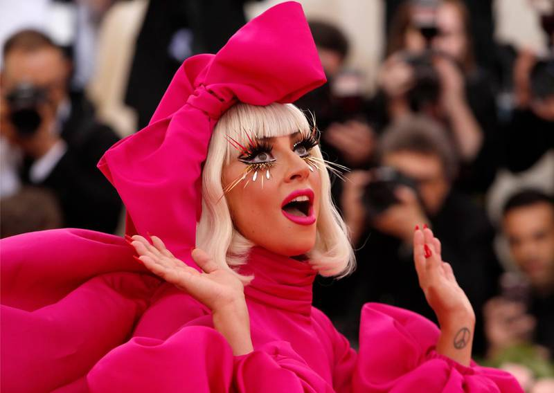 Metropolitan Museum of Art Costume Institute Gala - Met Gala - Camp: Notes on Fashion- Arrivals - New York City, U.S. – May 6, 2019 - Lady Gaga. REUTERS/Andrew Kelly