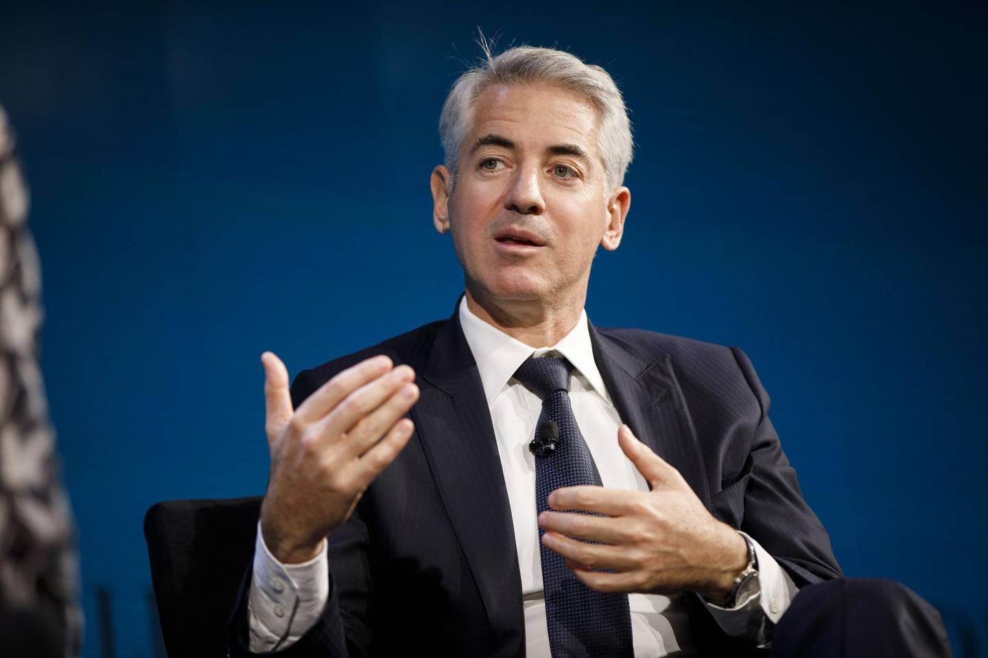 Bill Ackman, chief executive officer of Pershing Square Capital Management LP, speaks during the WSJ D.Live global technology conference in Laguna Beach, California, U.S., on Tuesday, Oct. 17, 2017. WSJ D.Live conference brings together CEOs, founders, investors, and luminaries to discuss the global technology environment and how to move the industry forward. Photographer: Patrick T. Fallon/Bloomberg