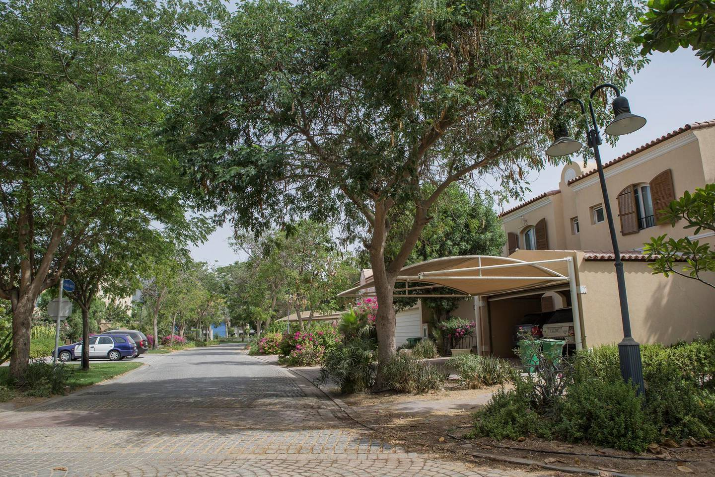 DUBAI, UNITED ARAB EMIRATES, 10 JUNE 2015. STOCK Photography of the Green Community located in Dubai investment Park. (Photo: Antonie Robertson/The National) Journalist: None. Section: Business. *** Local Caption ***  AR_1006_Green_Community_STOCK-04.JPG