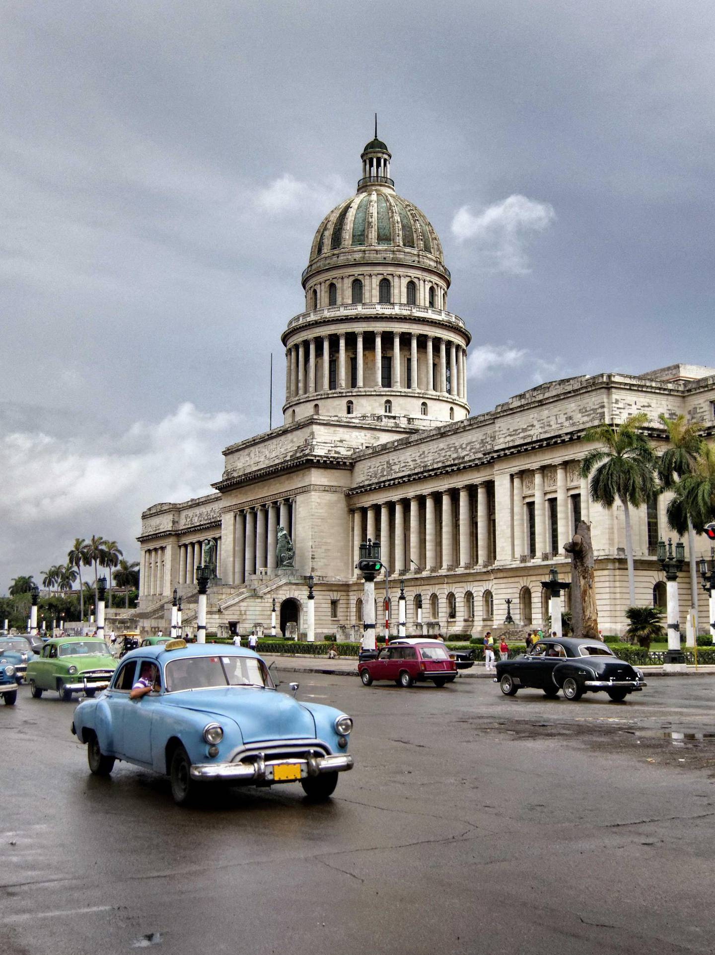 El Capitolio was the seat of government in Cuba until after the Cuban Revolution in 1959, and is now home to the Cuban Academy of Sciences. Getty Images