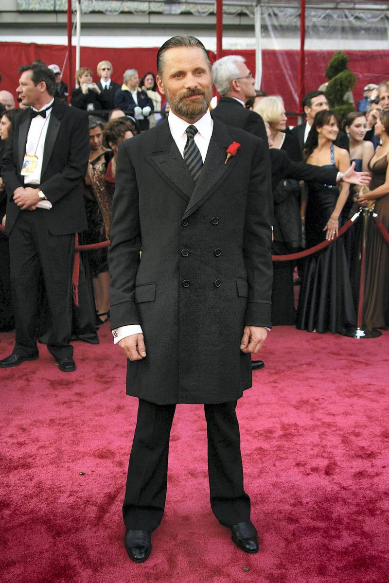 HOLLYWOOD - FEBRUARY 24:  Actor Viggo Mortensen arrives at the 80th Annual Academy Awards held at the Kodak Theatre on February 24, 2008 in Hollywood, California.  (Photo by Frazer Harrison/Getty Images)