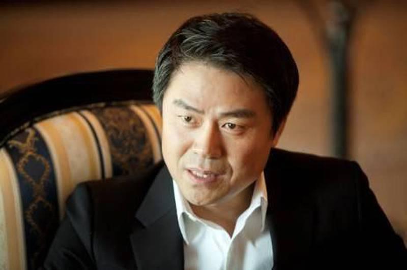 Dubai, United Arab Emirates, Jan 22, 2013 - Wonhong Cho Executive VP of Hyundai's Global Head of Marketing at Mina A' Salam Hotel. ( Jaime Puebla / The National Newspaper )