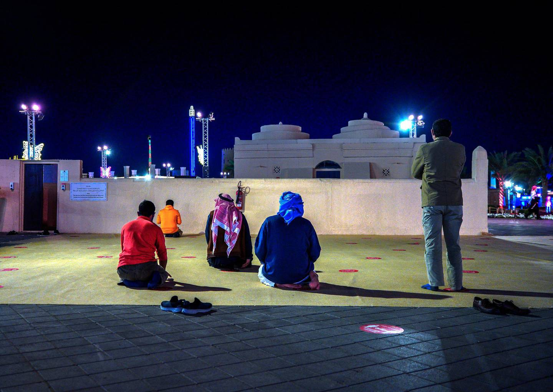 Abu Dhabi, United Arab Emirates, January 10, 2021.  A mosque  at the Sheikh Zayed Festival.Victor Besa/The NationalSection:  NAReporter:  Saeed Saeed