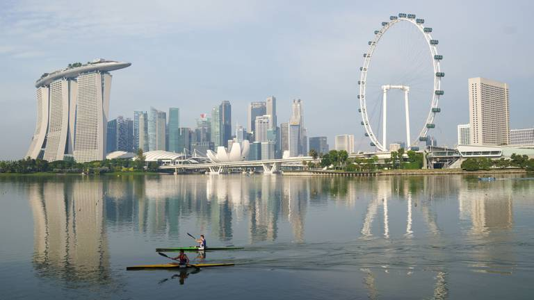 An image that illustrates this article Singapore reopening to travellers from 9 countries: no return for UAE tourists yet