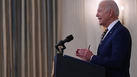 Biden celebrates 300 million Covid shots but says it's not enough