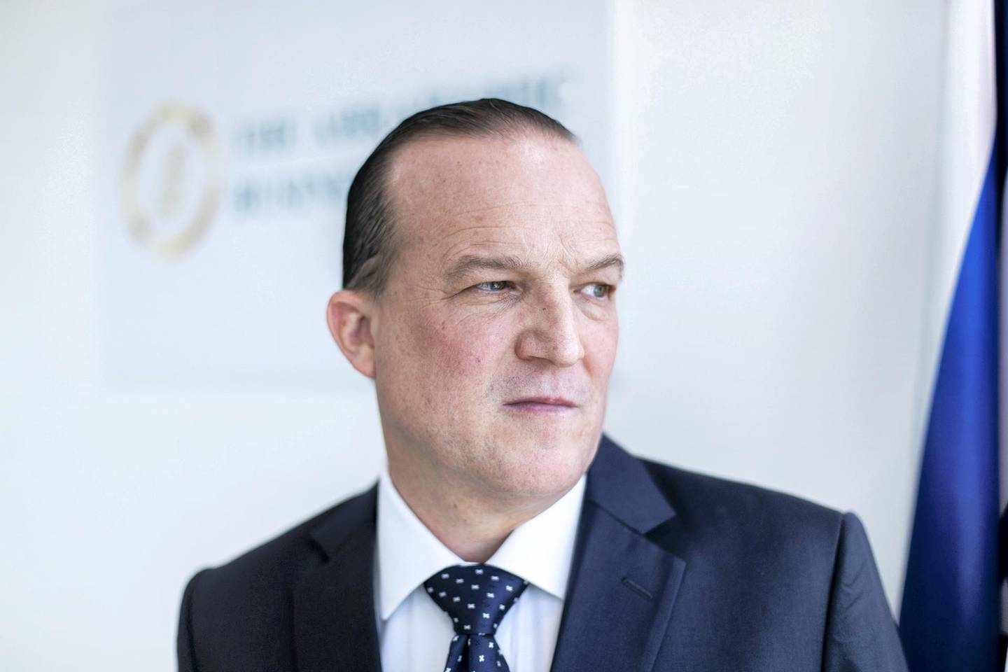 DUBAI, UNITED ARAB EMIRATES. 17 NOVEMBER 2020. Raphael Nagel, Chairman of the Board of the Abrahamic Business Circle .(Photo: Reem Mohammed/The National)Reporter:Section:
