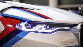 Three futuristic BMW concept vehicles go on display in Dubai