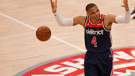 Russell Westbrook closes on record as Wizards edge closer to Pacers