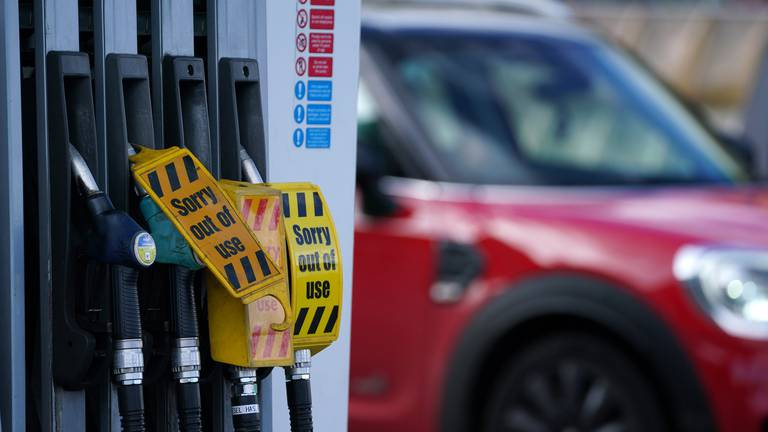 An image that illustrates this article UK demand for petrol should ease in 'coming days'