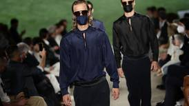 Face masks on the runway: Armani presents latest men's collection in Milan