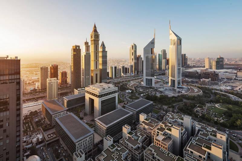 DIFC District. Courtesy Dubai International Financial Centre Authority © Copyright Katarina Premfors 2017