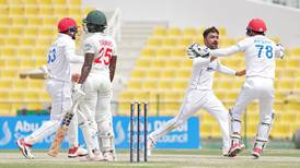 'Injured' Rashid Khan's marathon bowling effort helps Afghanistan level Test series against Zimbabwe