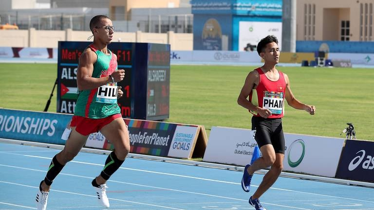 An image that illustrates this article Tokyo Paralympics: Mena athletes in action on Day 7