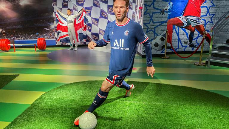 An image that illustrates this article Madame Tussauds Dubai: Ronaldo, Messi, and Kohli immortalised - in pictures