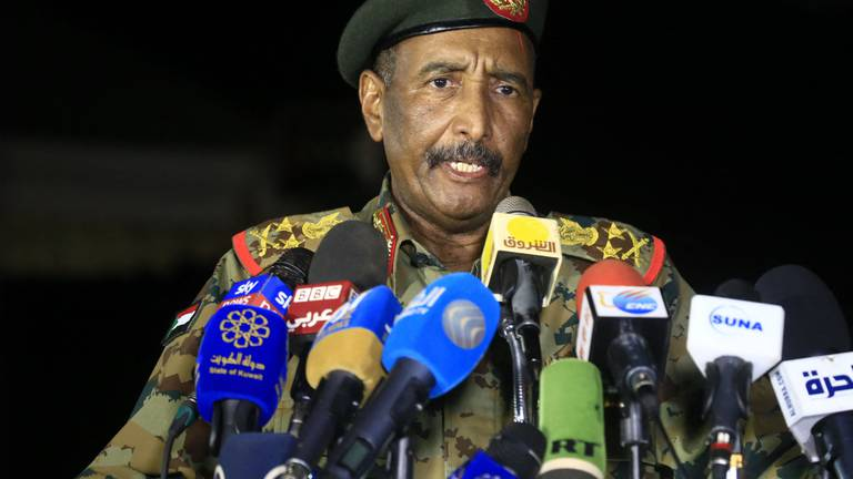 An image that illustrates this article Sudan's army withdraws protection for Al Bashir's properties as tension simmers after coup
