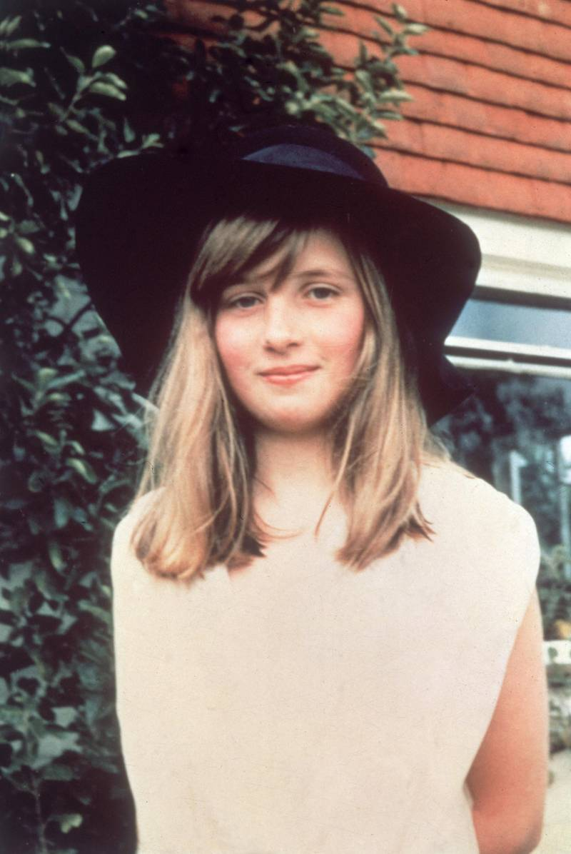 1971:  Lady Diana Spencer (1961 - 1997), later the wife of Prince Charles, during a summer holiday in Itchenor, West Sussex.  (Photo by Central Press/Getty Images)