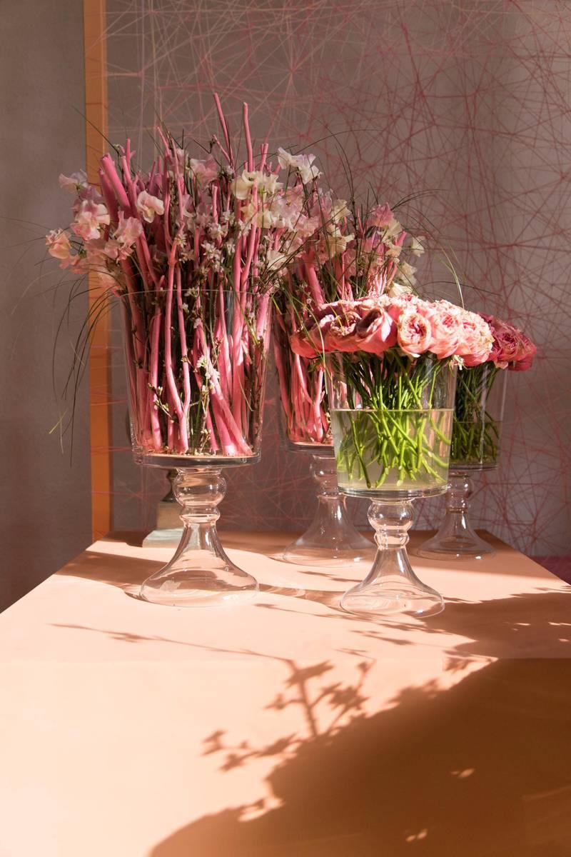DUBAI, UNITED ARAB EMIRATES - Feb 22, 2018.Floral arrangements at Dubai International Flower Festival.(Photo: Reem Mohammed/ The National)Reporter: Melanie HuntSection: WK