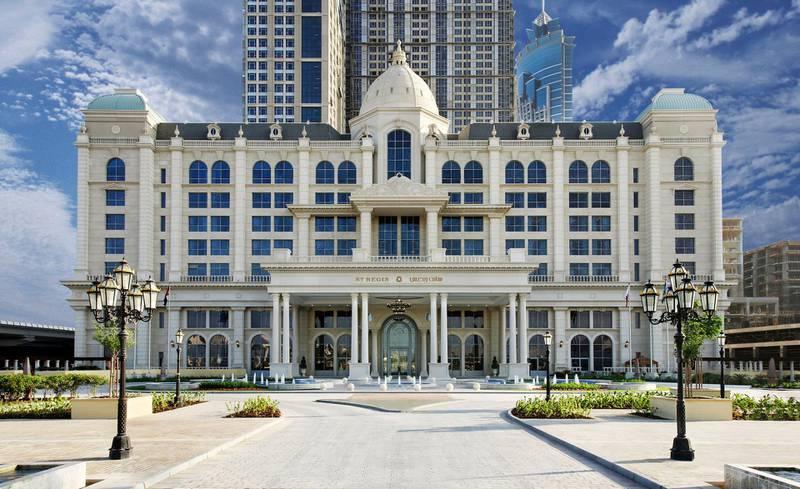 A handout photo of St Regis Dubai (Courtesy: St Regis Dubai) *** Local Caption ***  wk20tr-insider-stregisdxb04.jpg