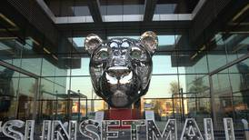 Where has the giant lioness in Dubai come from? Metal sculpture spotted at Sunset Mall