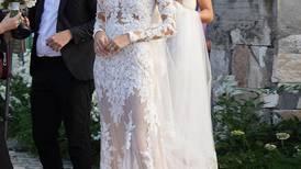 Model Devon Windsor marries wearing Lebanese label Zuhair Murad