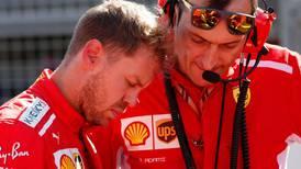 Sebastian Vettel must delay Lewis Hamilton's title coronation at the United States Grand Prix