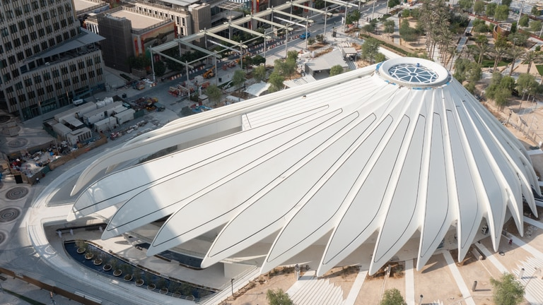 An image that illustrates this article Take a look at some of the Arab pavilions at Expo 2020 Dubai