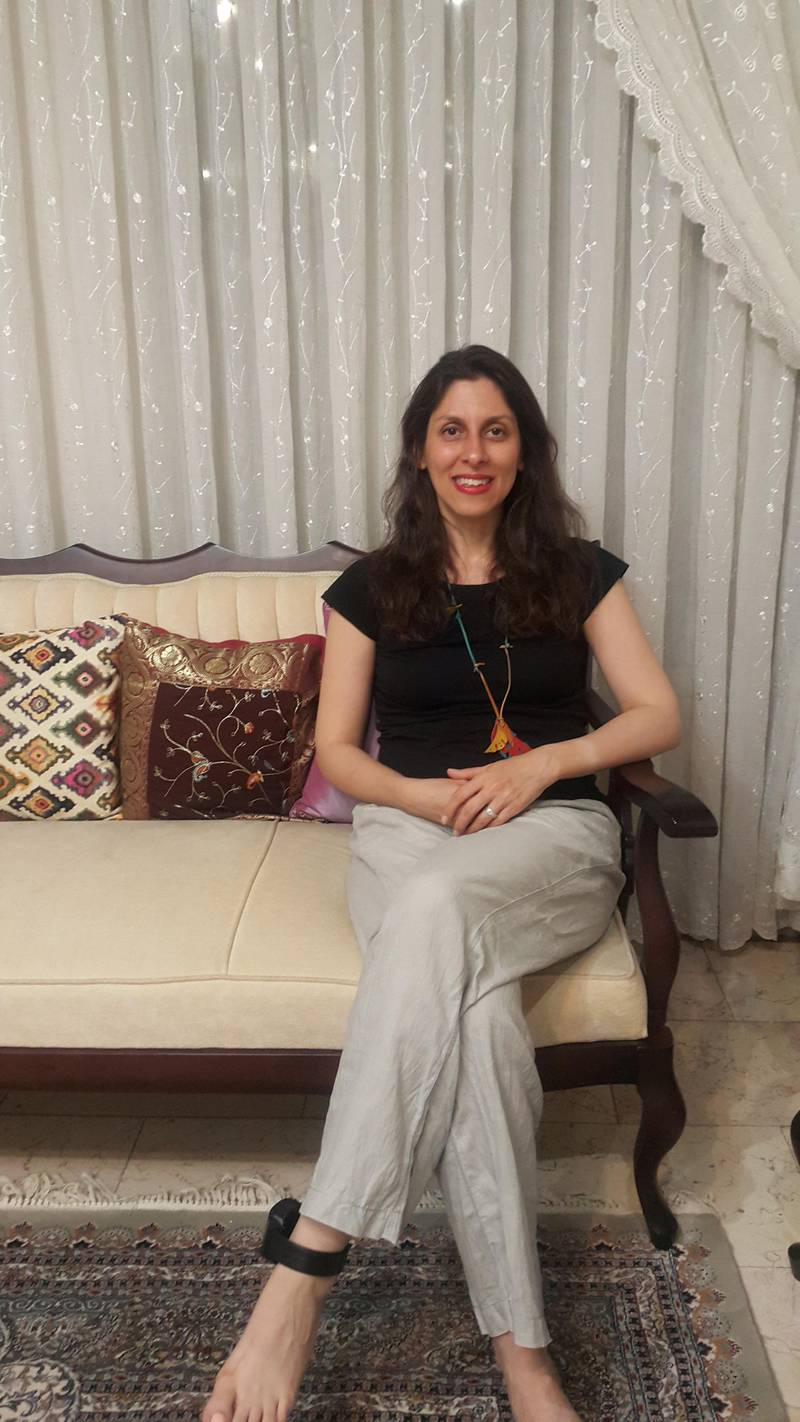 British-Iranian aid worker Nazanin Zaghari-Ratcliffe is seen at her parent's home, in Tehran, Iran March 17, 2020.  Free Nazanin Campaign/Handout via REUTERS ATTENTION EDITORS - THIS IMAGE HAS BEEN SUPPLIED BY A THIRD PARTY. NO RESALES. NO ARCHIVES