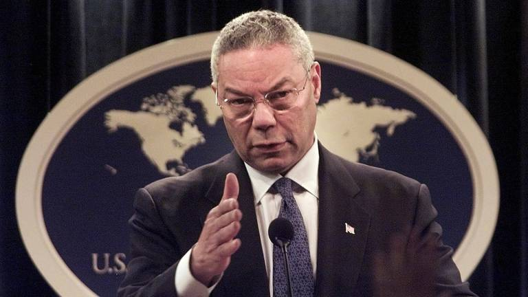 An image that illustrates this article Colin Powell, former US military chief and secretary of state, dies of Covid at 84