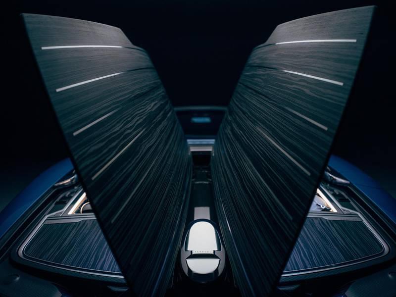 Rolls-Royce Boat Tail Hosting Suite rear. Courtesy Rolls-Royce