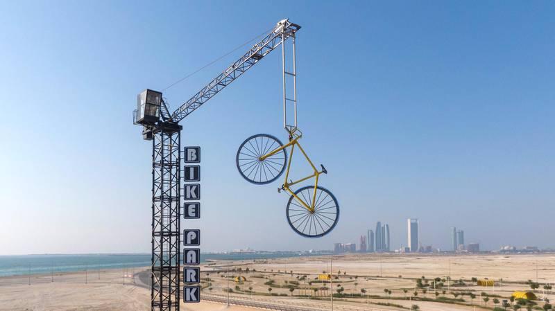 AL HUDAYRIYAT ISLAND, ABU DHABI, UNITED ARAB EMIRATES - October 09, 2020: General view of Al Hudayriyat Mar Vista project, at Al Hudayriyat Island.  ( Saeed Khawaja for the Ministry of Presidential Affairs ) ---