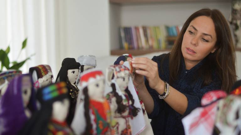 An image that illustrates this article 'Madeena the Doll' project to promote heritage in Jordan - in pictures