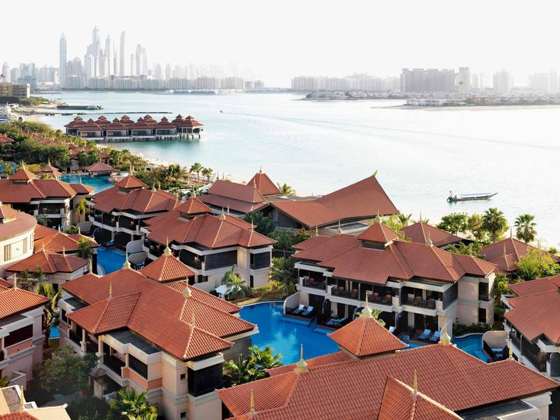 A handout photo of Anantara The Palm Dubai Resort (Courtesy: Anantara The Palm Dubai Resort) *** Local Caption ***  on22se-bites-anantara.jpg