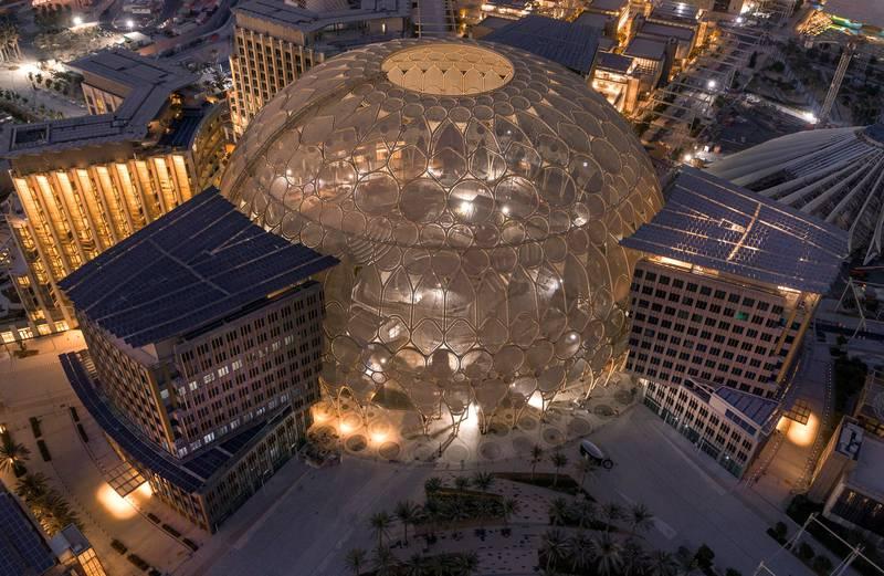 Dubai Expo site. Courtesy: Expo 2020 Dubai.