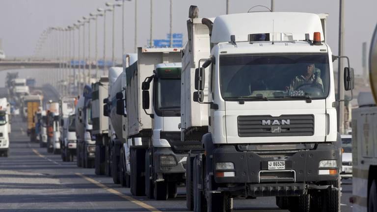 An image that illustrates this article Rush-hour ban on heavy vehicles in Ras Al Khaimah